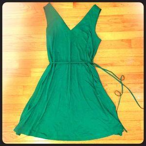 LOFT Tie-Waist Jersey Dress - NWT - Size:  LP