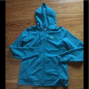 Under Armour Zippered Semi-Fitted Hoodie