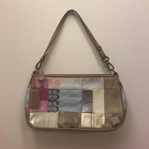 Coach Patchwork Small Purse Handbag