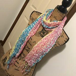 New Cheetah scarf