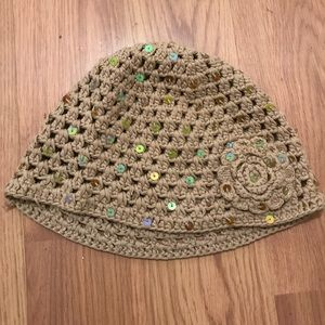 New Sequin knit hat