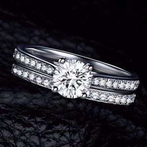 Jewelry - COMING SOON!! Crystal Engagement Lovers Ring Set