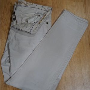White American Eagle Pants