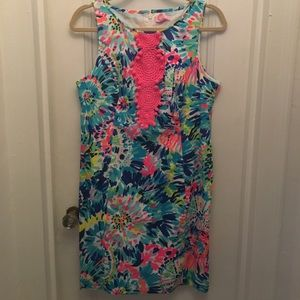 Lilly Pulitzer Adara Shift in Dive In, Size 8