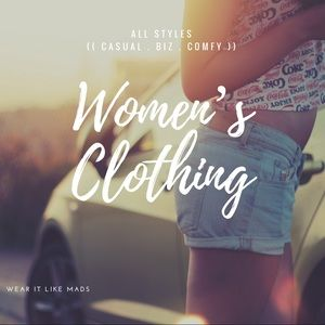 Other - *NEW Items Coming SOON* Women's Clothing