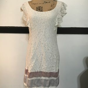 AEO White Lace Dress