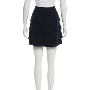 Elizabeth and James Tiered Mini Skirt - Size M