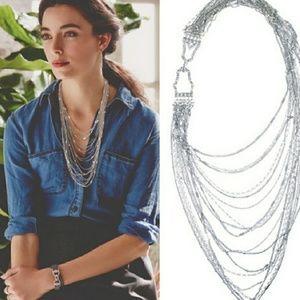 Chloe + Isabel multi stand bib necklace