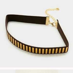 Haia PM Jewelry - Reflective Gold Embellished Choker