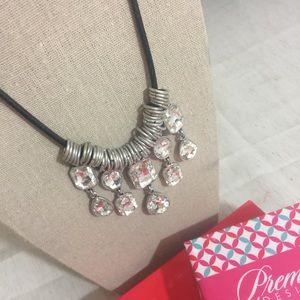 Premier Designs Crystal Drops Necklace