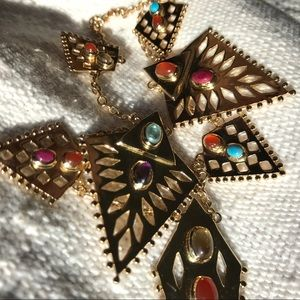 Lucky Brand x Amrapali - Spiked Collar Necklace