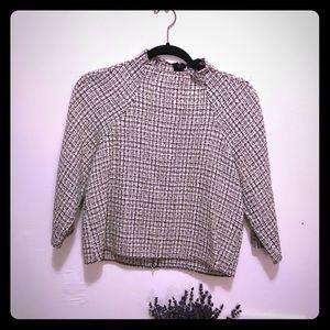 Zara beautiful tweed top