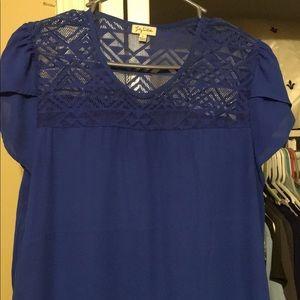 Blue top / blouse