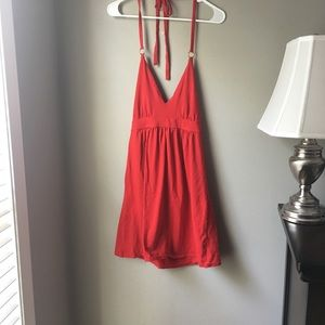 Victoria secret shelf bra halter dress size medium