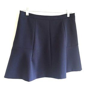Navy J Crew Skirt
