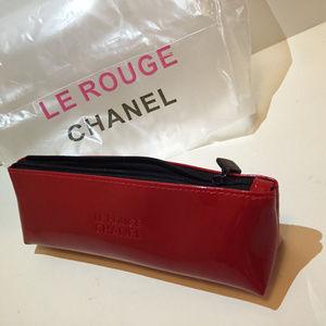 Chanel cosmetic make up bag