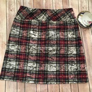 Plaid Tribal Skirt