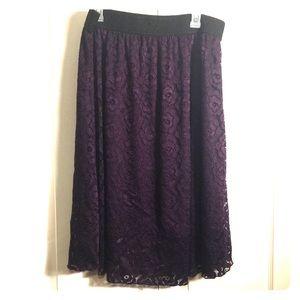 Lularoe deep purple Lola 2x