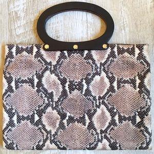 KATE SPADE Snakeskin Handbag
