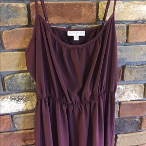 Deep Red Cotton On Dress