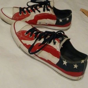 Other - AMERICAN FLAG CONVERSE