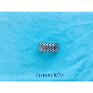 Tiffany & Co Somerset Ring, 925 Sterling Silver