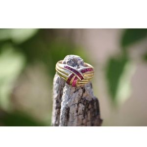 Jewelry - 14k ruby ring