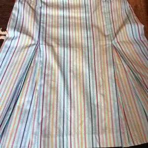 Paul Smith cotton skirt
