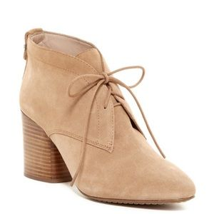 French Connection Dinah Lace-Up Booties