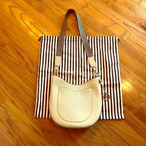 Henri Bendel West 57th Hobo with woven strap