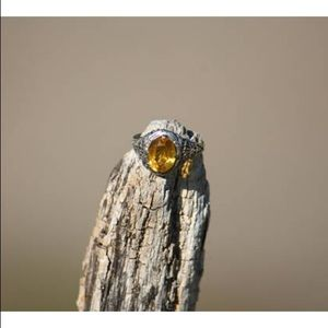 Jewelry - Antique filigree citrine ring