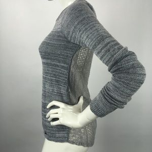 Hollister Lace Back Knit Sweater
