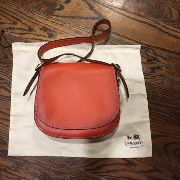 d984ab94a7c5 Coach saddle bag