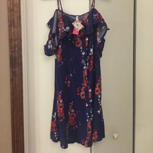 Cold shoulder Dress Xhilaration Target