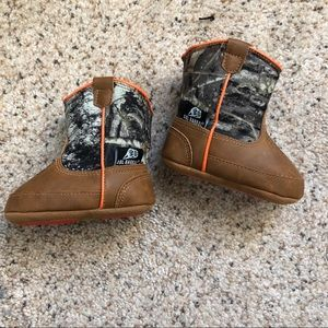 Other - Newborn/Infant Camouflage Cowboy Boots