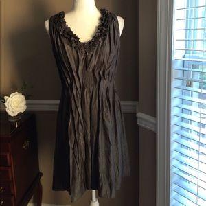 Esley gray party dress, Sz M