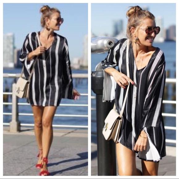 d72651c173cdd Faithfull the Brand Dresses | Harper Tunic Dress Navy 8 | Poshmark
