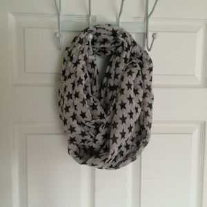 Other - Sheer star infinity scarf