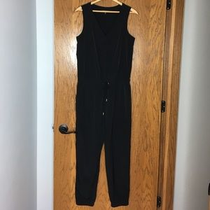 Express Black Jumpsuit - Size Small