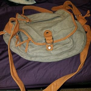 Gray crossbody bag from urban outfitters