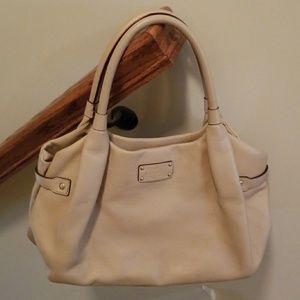 Beige Kate Spade purse
