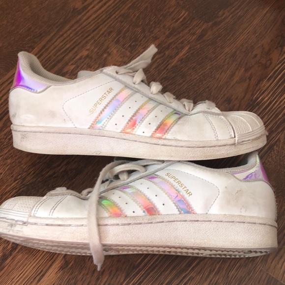 3e2517a731b6 Adidas Superstar Shoes - kids size 5.5