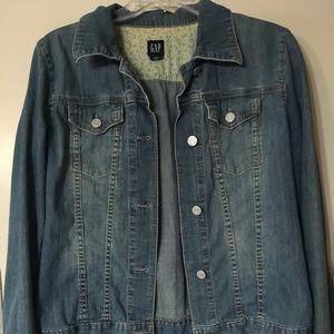 "Gap Blue Jean Jacket, Medium, 21"""