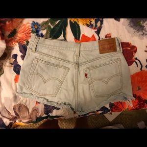 Levi shorts worn once