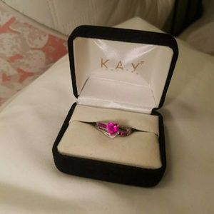 Kay Jewelers ruby ring