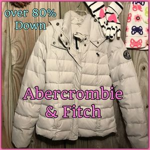 ⭐️Warm winter Abercrombie & Fitch Girls Medium⭐️