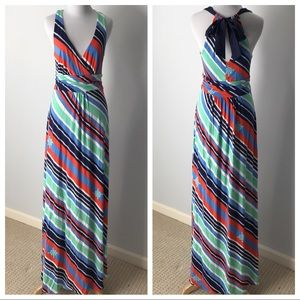 Lilly Pulitzer Overboard Sripe Maxi Dress