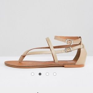 Asos Leather strappy sandals
