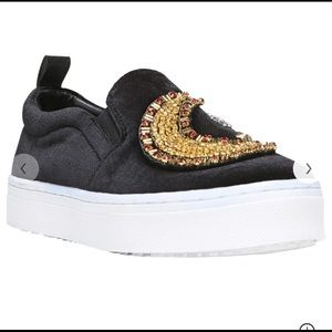 Sam edelman star and moon platform sneakers