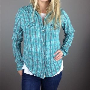 Wrangler Wrancher snap up western style shirt